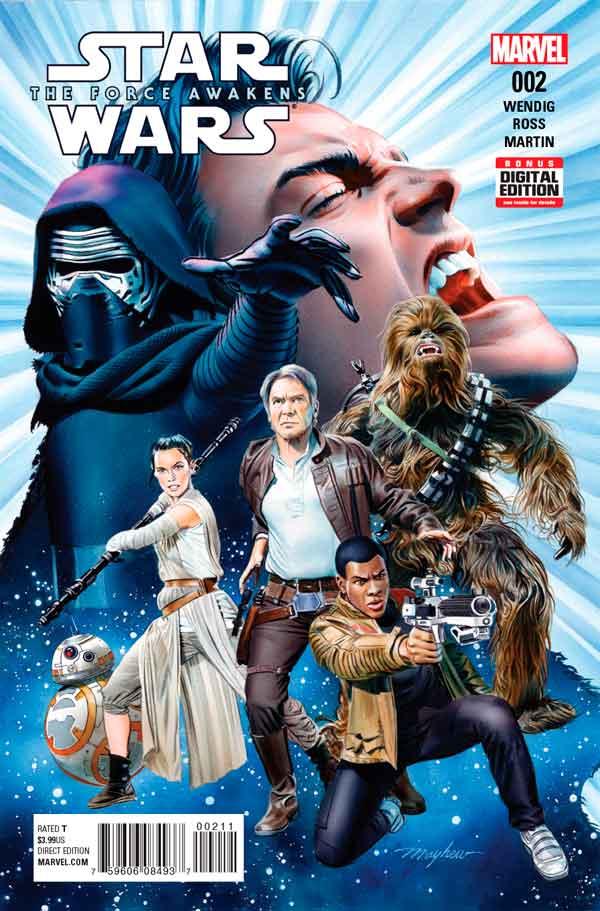 Star Wars: The Force Awakens Adaptation #2, Звездные Войны: Пробуждение Силы. Адаптация #2, читать комиксы Звёздные войны