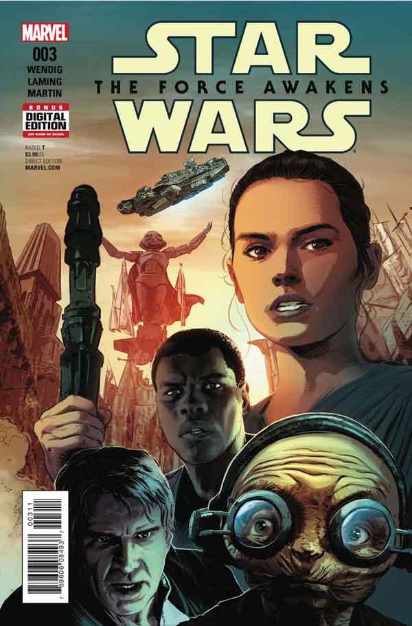 Star Wars: The Force Awakens Adaptation #3, Звездные Войны: Пробуждение Силы. Адаптация #3, читать комиксы Звёздные войны