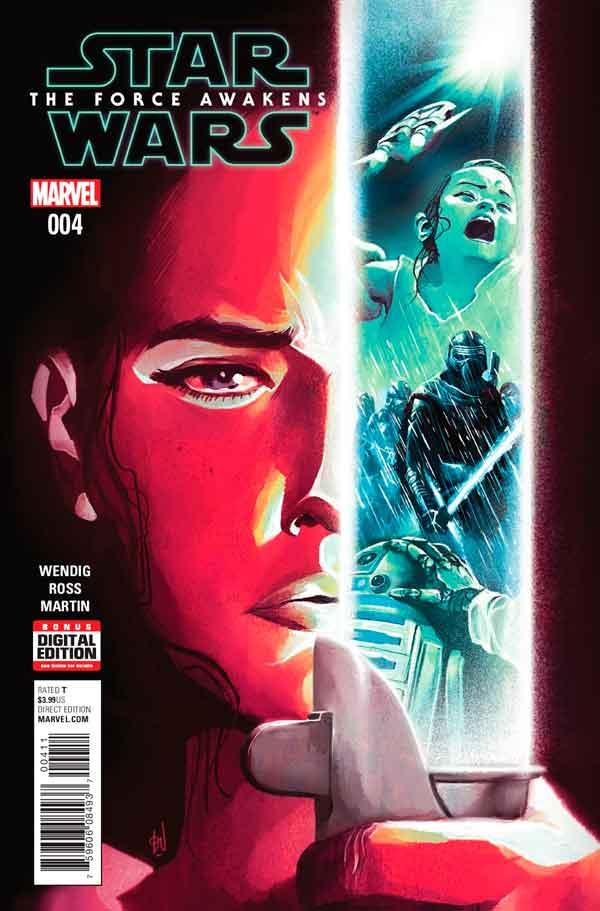 Star Wars: The Force Awakens Adaptation #4, Звездные Войны: Пробуждение Силы. Адаптация #4, читать комиксы Звёздные войны