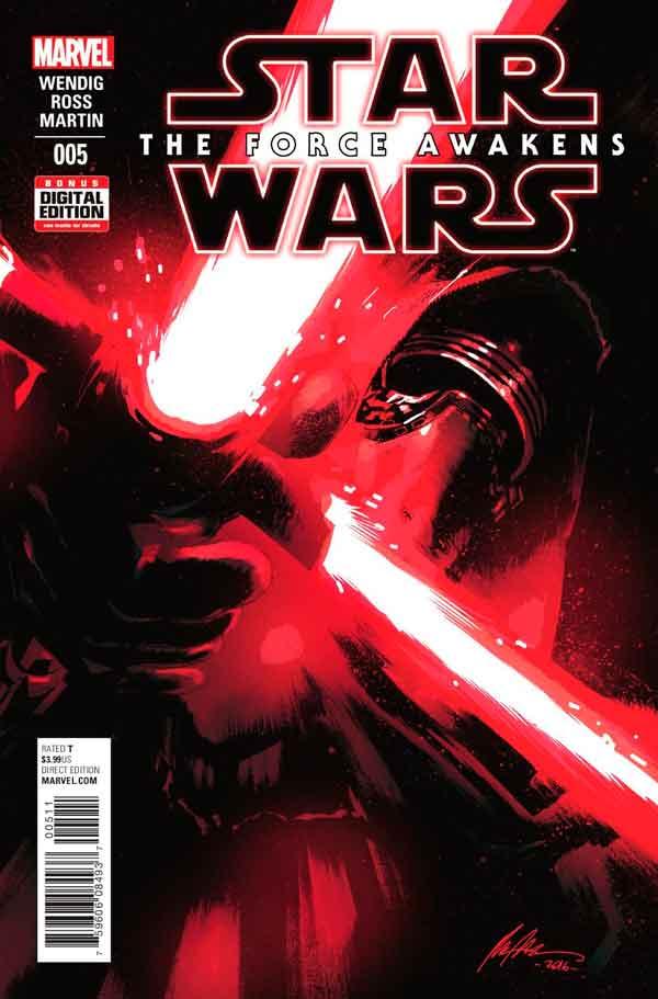 Star Wars: The Force Awakens Adaptation #5, Звездные Войны: Пробуждение Силы. Адаптация #5, читать комиксы Звёздные войны