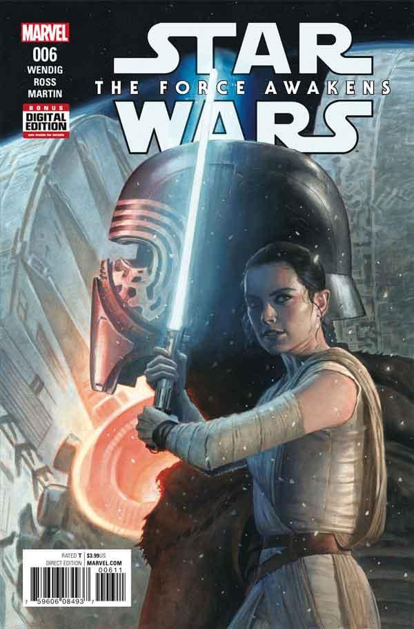 Star Wars: The Force Awakens Adaptation #6, Звездные Войны: Пробуждение Силы. Адаптация #6, читать комиксы Звёздные войны