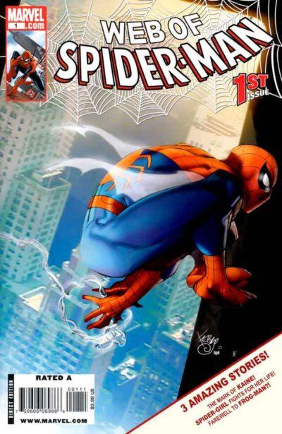 Паутина Человека-паука Том 2 #1, Web of Spider-Man Vol 2 #1 читать комиксы онлайн
