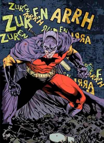 Бэтмен из Зур-Эн-Арра, Batman R.I.P., Похороны Бэтмена, Покойся с миром, Бэтмен