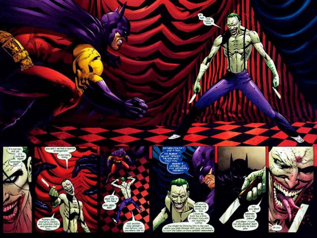 Бэтмен из Зур-Эн-Арра, Batman R.I.P., Похороны Бэтмена, Покойся с миром, Бэтмен против Джокера