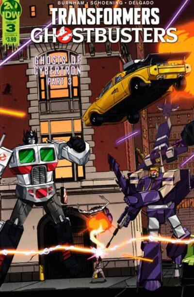 Transformers Ghostbusters #3 (2019) Трансформеры Охотники за Привидениями #3 комиксы читать онлайн