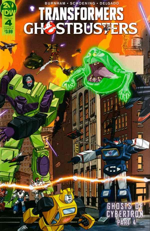 Transformers Ghostbusters #4 (2019) Трансформеры Охотники за Привидениями #4 комиксы читать онлайн