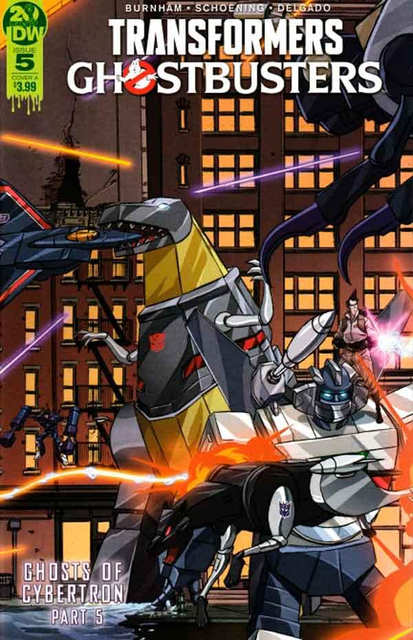 Transformers Ghostbusters #5 (2019) Трансформеры Охотники за Привидениями #5 комиксы читать онлайн