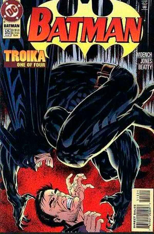 Batman Vol 1 515, комиксы про Бэтмена