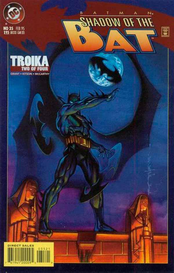 Batman: Shadow of the Bat Vol 1 35, комиксы про Бэтмена