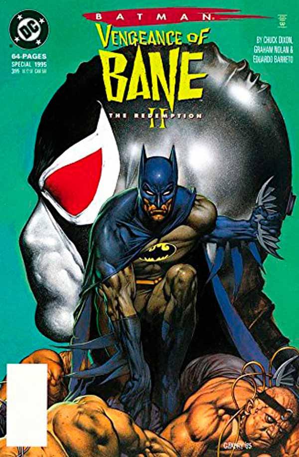Batman: The Vengeance Of Bane Vol 1 #2, комиксы про Бэтмена, Бэтмен Тройка читать комиксы онлайн