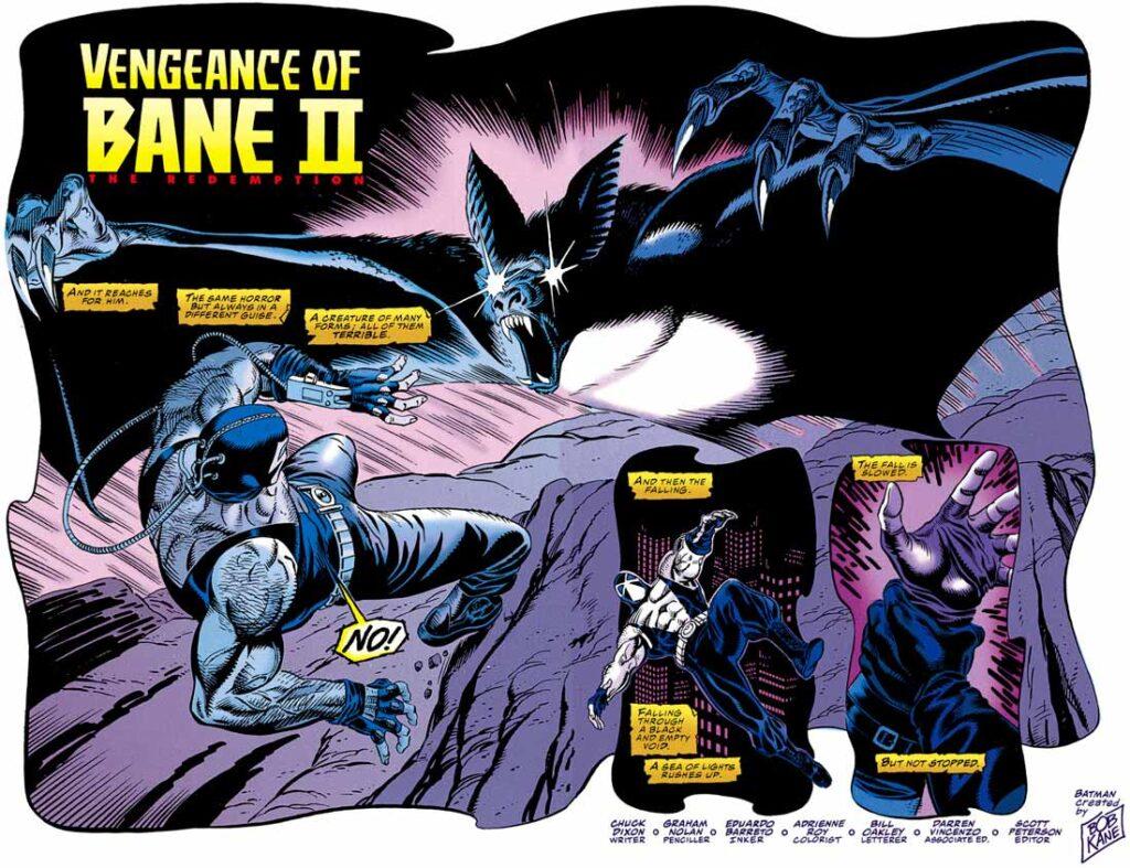 Batman: The Vengeance Of Bane Vol 1 #2, Бэтмен: Месть Бэйна Том 1 #2, комиксы про Бэтмена