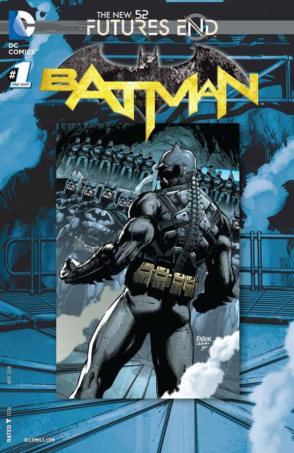 Batman: Futures End Vol 1 #1, Бэтмен: Конец будущего Том 1 #1, комиксы про Бэтмена читать онлайн