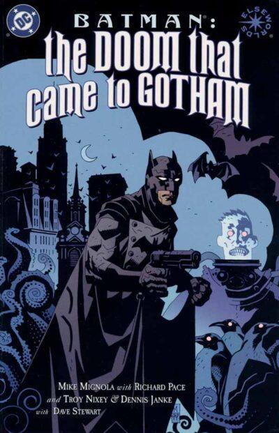 Batman: The Doom That Came To Gotham Vol 1 #1, Бэтмен: Погибель пришла в Готем Том 1 #1 читать скачать комиксы онлайн, комиксы про Бэтмена