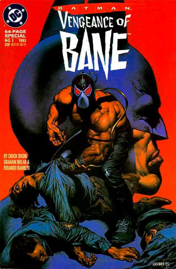 Batman: Vengeance of Bane Vol 1 #1, Бэтмен: Месть Бэйна Том 1 #1, читать комиксы онлайн Месть Бейна