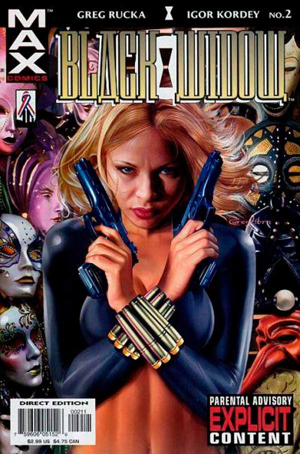 Black Widow: Pale Little Spider Vol 1 #2, Черная Вдова: Бледный паук Том 1 #2, Комиксы про Елену Белову, комиксы Марвел Черная Вдова