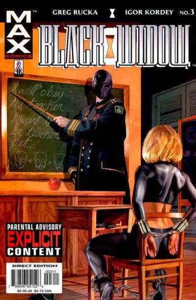 Black Widow: Pale Little Spider Vol 1 #3, Черная Вдова: Бледный паук Том 1 #3, Комиксы про Елену Белову, комиксы Марвел Черная Вдова