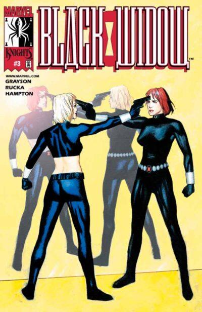 Black Widow Vol 2 #3, Черная Вдова Том 2 #3, Комиксы про Наташу Романов, Черная Вдова Марвел