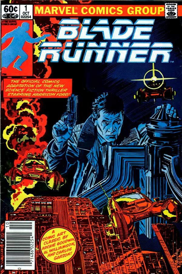 Blade Runner Vol 1 #1 (1982), Бегущий по лезвию Том 1 #1, комиксы онлайн Бегущий По Лезвию
