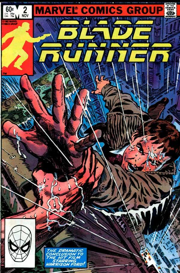 Blade Runner Vol 1 #2 (1982), Бегущий по лезвию Том 1 #2, комиксы онлайн Бегущий По Лезвию