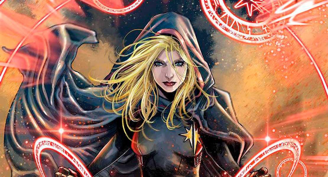 Капитан Марвел Том 10 #28, Captain Marvel Vol 10 28, комиксы Капитан Марвел, новый костю Капитан Марвел