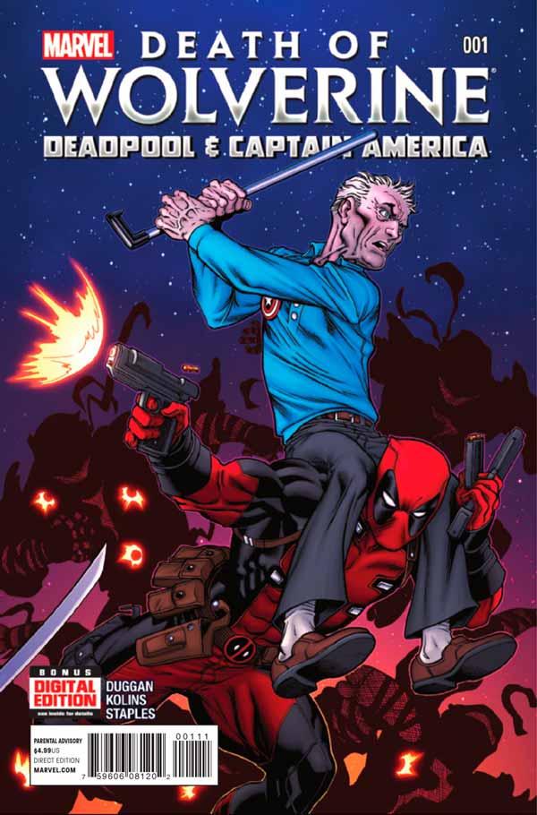 Death of Wolverine: Deadpool & Captain America Vol 1 #1, Смерть Росомахи: Дэдпул и Капитан Америка Том 1 #1 читать скачать комиксы онлайн