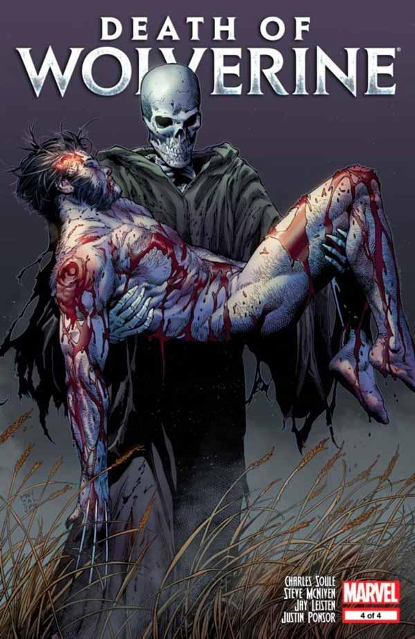 Death of Wolverine Vol 1 4, Смерть Росомахи Том 1 4 комиксы онлайн, Смерть Логана в комиксах Марвел