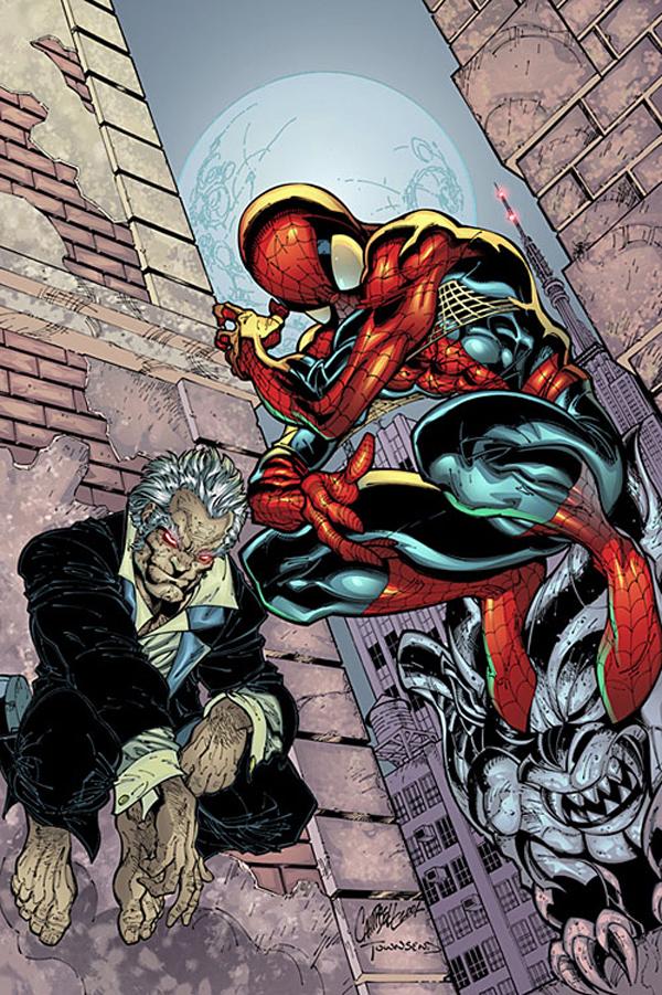 Иезекииль и Человек-паук, история персонажа Иезекииль, Человек-Паук