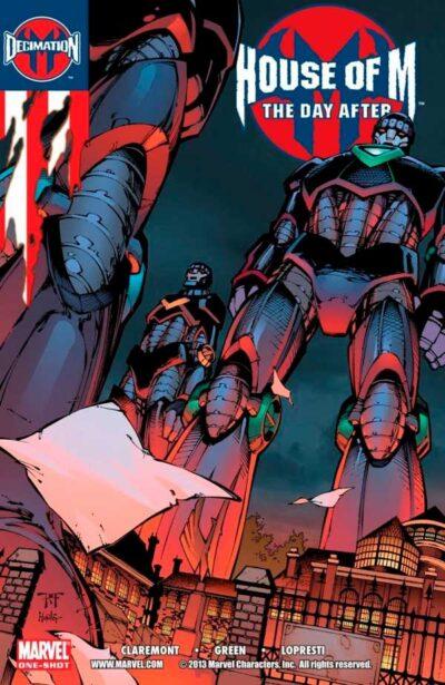 House of M The Day After Vol 1 #1, Дом М на следующий день после Том 1 #1 читать комиксы онлайн