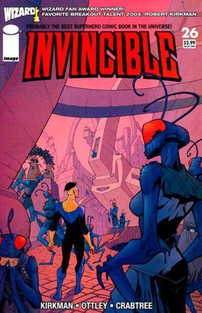 Неуязвимый (Invincible) #26 читать скачать комиксы онлайн, Марк Грейсон Непобедимый комиксы онлайн