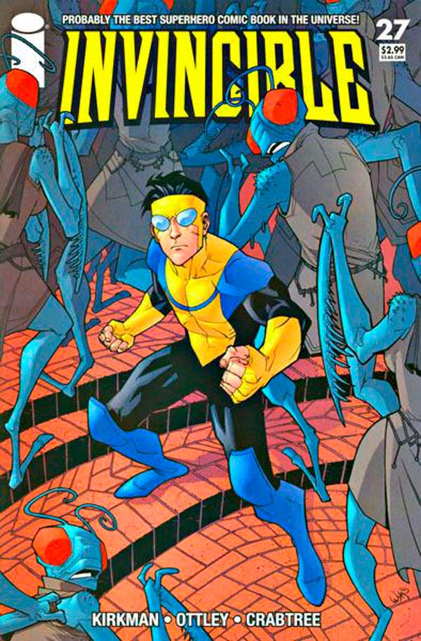 Неуязвимый (Invincible) #27 читать скачать комиксы онлайн, Марк Грейсон Непобедимый комиксы онлайн