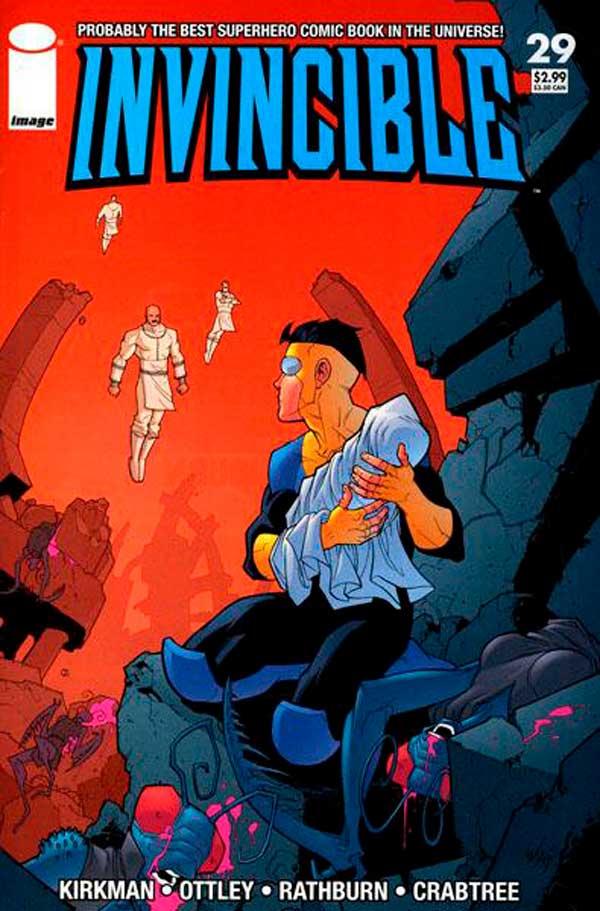 Неуязвимый (Invincible) #29 читать скачать комиксы онлайн, Марк Грейсон Непобедимый комиксы онлайн