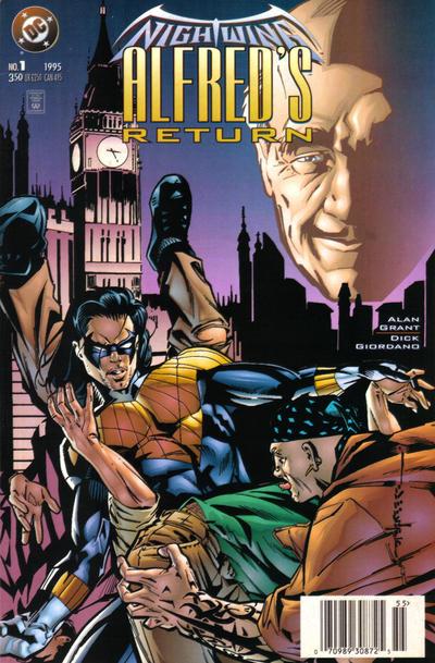 Nightwing: Alfred's Return Vol 1 #1, комиксы про Найтвинга, Бэтмен Тройка