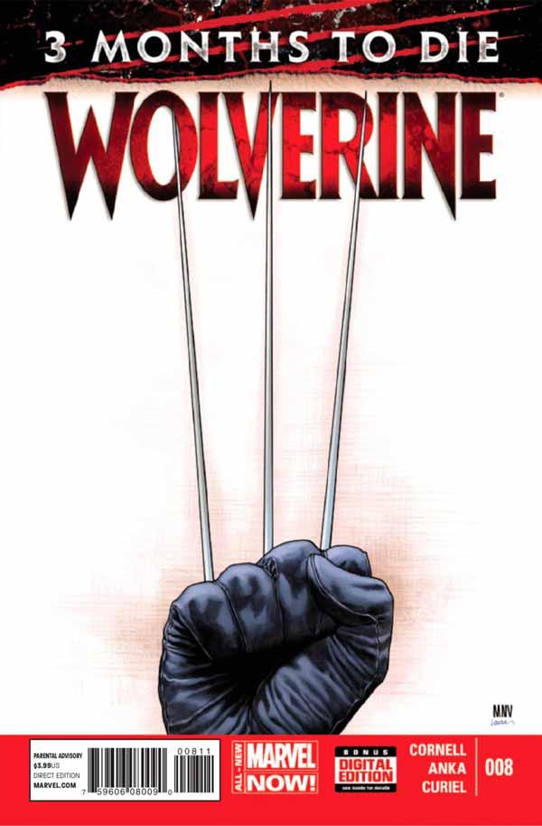 Wolverine Vol 6 #8 - Three Months to Die: Games of Deceit and Death Part 1 of 2, Росомаха Том 6 # 8 - Три месяца до смерти: Игры обмана и смерти, часть 1 из 2, Смерть Росомахи, Как Умер Логан в комиксах Марвел