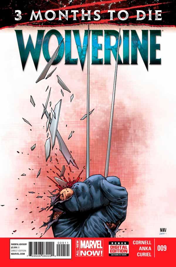 Wolverine Vol 6 #9 - Three Months to Die: Games of Deceit and Death Part 2, Росомаха Том 6 #9 - Три месяца до смерти: Игры обмана и смерти, часть 2, Смерть Росомахи, Как Умер Логан в комиксах Марвел