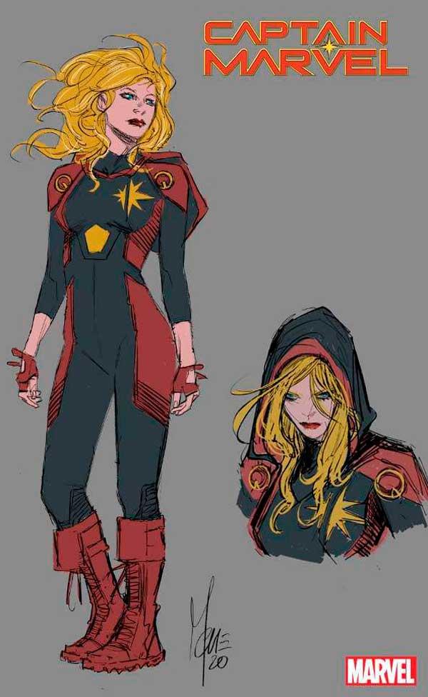 Капитан Марвел Том 10 #28, Captain Marvel Vol 10 28, комиксы Керол Денверс, Капитан Марвел, новый костюм