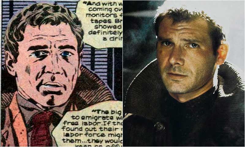 Харрисон Форд, Рик Декард (Blade Runner), комиксы Бегущий по Лезвию