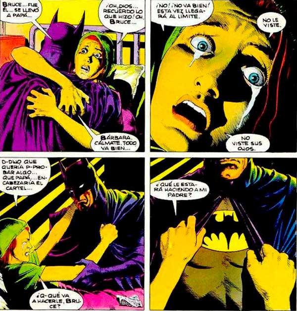 Барбара Гордон, Бэтгёрл, Batgirl, биография Бэтмена
