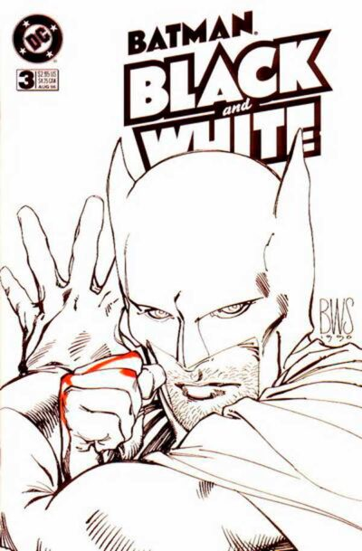 Batman: Black and White Vol 1 #3, Бэтмен: Черное и белое Том 1, читать комиксы Бэтмен: Черное и белое Том 1 #3