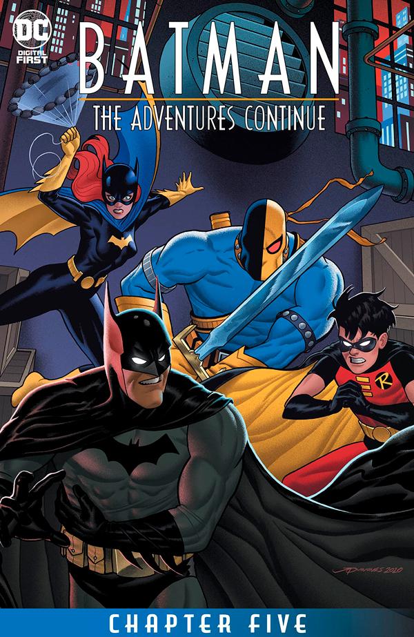 Batman: The Adventures Continue #5, Бэтмен Приключения Продолжаются #5