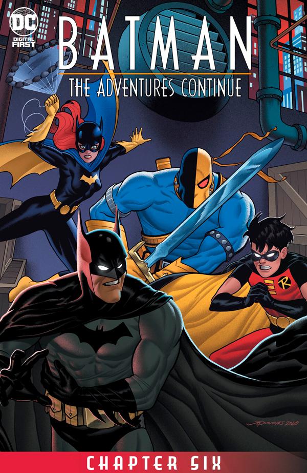 Batman: The Adventures Continue #6, Бэтмен Приключения Продолжаются #6