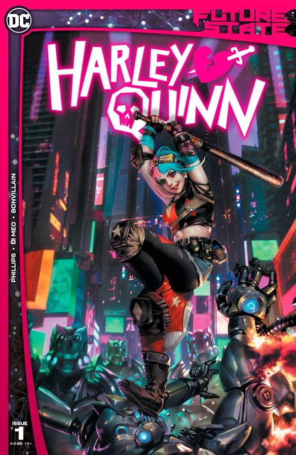 Future State: Harley Quinn Vol 1 #1, Будущее состояние: Харли Куинн, том 1 #1, комиксы Харли Квинн, читать онлайн Харли Квинн ДС
