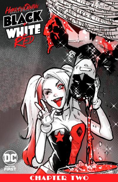 Harley Quinn Black + White + Red Vol 1 #2 Харли Квинн Черное Белое Красное Том 1 #2 читать скачать комиксы онлайн