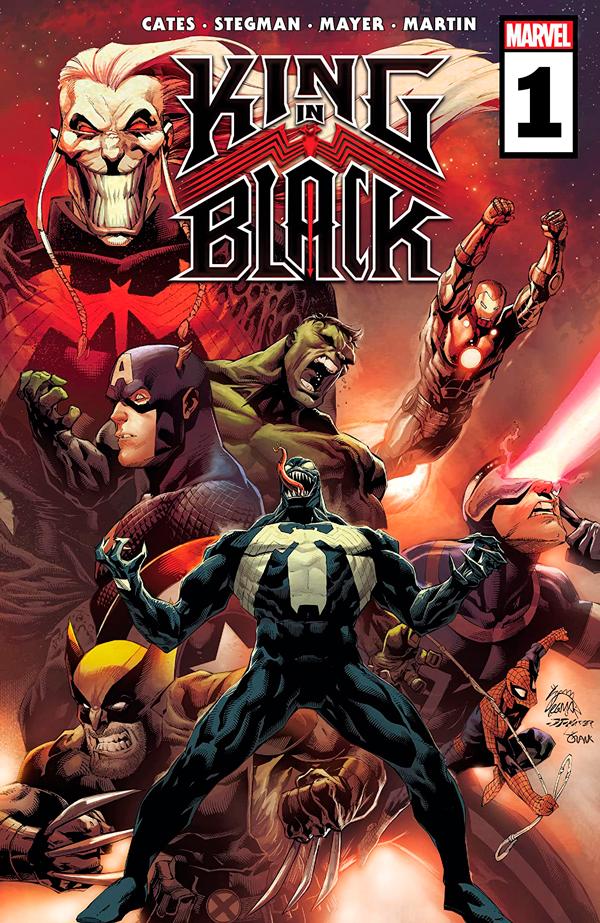 Король в Черном Том 1 #1, читать комиксы King in Black Vol 1 #1