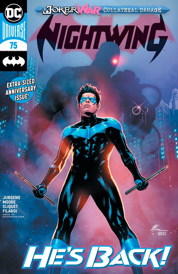 Найтвинг Том 4 #74, Nightwing Vol 4 #74 читать скачать комиксы, персонаж комиксов Дик Грейсон