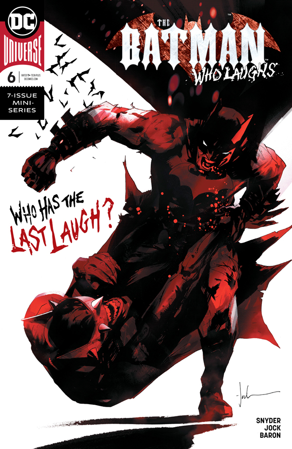 Читать комиксы Бэтмен, который смеется Том 2 #6 онлайн, комиксы Бэтмен