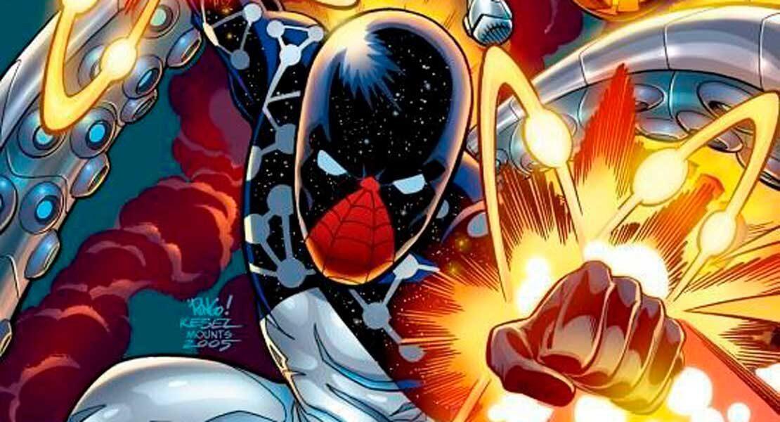 Космический Человек-Паук, Человек Паук Капитан Вселенная, Питера Паркер Капитан Вселенная, Peter Parker Earth-91110, Captain Universe