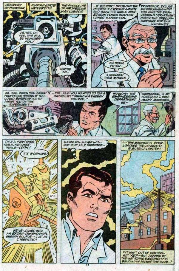 Питер Паркер, Капитан Вселенная, Peter Parker (Earth-91110), Космический Человек-Паук