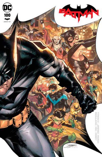 Бэтмен Том 3 #100, Batman Vol 3 #100 читать скачать комиксы онлайн